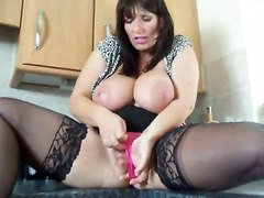 Bigbouncingboobs - Josie In Kitchen