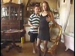 French Pregnant Slut Banged
