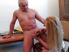 German Cfnm Handjob