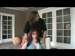 Redhead Milf And Her Ebony Fucker