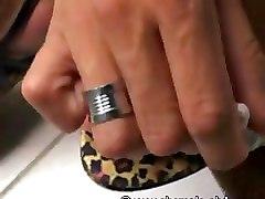 Ts Leona Paints Nails Before Masturbation