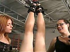 Jennifer Lemonde Whips Slave