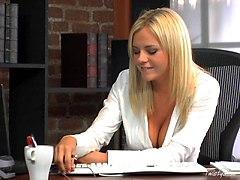 Slutty Office Babe Bree Olson