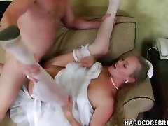 Hot Bride Daisy Gets Fucked