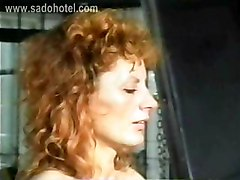 Beautiful Milf Slave With Her Pussy And Nipples Pierced Got Large Needles In Her Tiny Tits By Master In A Dungeon
