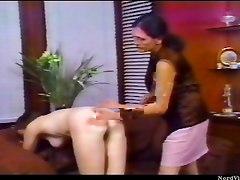 Girl Spanked By Older Lesbian