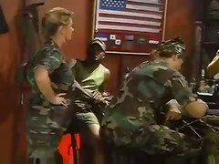 Johnni Black Gangbanged By Military Studs