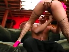Anal And Oral Sex With Slut In Fishnet