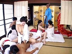 Japanese Orgy Uncensored Part 1