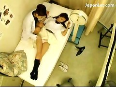 Schoolgirl In Uniform Getting Her Nipples Licked Pussy Fingered Stimulated By The Schooldoctor At The Clinic
