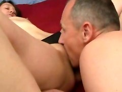 Husband Drills His Wife Holes