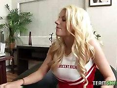 Busty Blonde Cheerleader  Hayley Cummings  Getting Fucked Ha