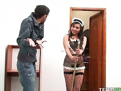 Hot Latina Maid Kelen Arias Getting Fucked Hard