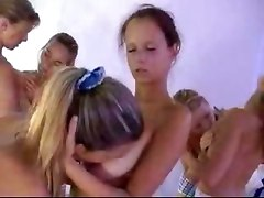 All Cute Teens Russian-orgy
