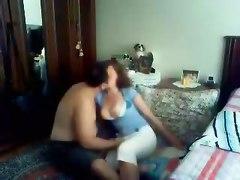 Another Amateur Brunette Hottie Riding In Her Bedroom