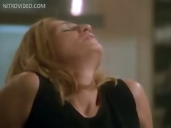 Ellen Barkin And Peta Wilson Lesbian Encounter In The Kitchen