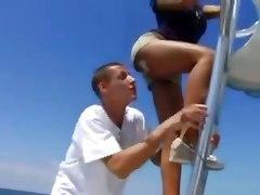Priya Rai Gets Fucked On A Boat
