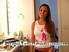 Andrea, From Ftv Girls, Young Amateur Girl Lingerie Play