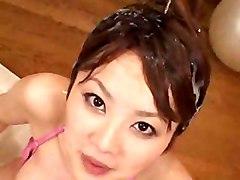 Yukka Haneda Bukkake