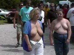 Fun At A Nudist Rally 20