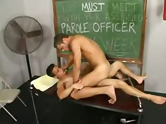 Gays Fuck On The Table
