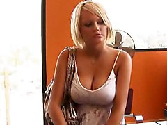 Grey Eyed Hannah Hilton Sharing Flat With A Pornstar