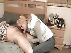 He Better Cum Or She Will Cut Off His Cock