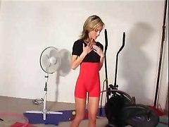Cute Sexy Sport Girl Chantal