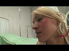 Busty Nurse Does Her Best For A Patients Delight