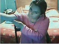 My Amiga Eva Jugando En La Web