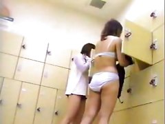Japanese Changing Room Voyeur