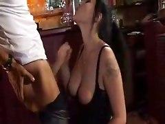 Piercing Pussy Kitchen Screwing