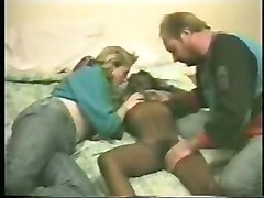 Pervert Couple Having Fun With A Black Prostitute