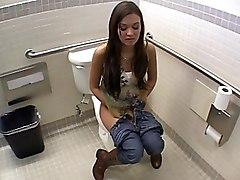 Sex In Womens Toilet