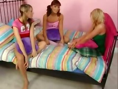 Allyssa Hall And Audrianna Angel Share A Cock