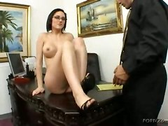 Office Sex On Writing Table