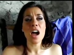 Sexy Brunette In Luscious Fuck