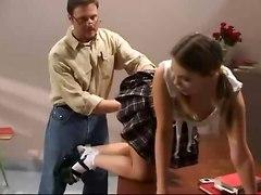 Hot Schoolgirl Gets Punished (gia Paloma)