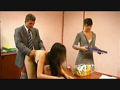 Lusty Secretarial Sluts Love To Fuck Their Boss