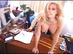 Ardent Boss Craves His Titty Blonde
