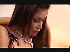 Anal Drilling For Brunette Girl