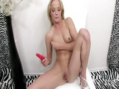 She Wanted A Cock But Grabbed A Dildo