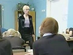 Russian Redhead Lesbian Teacher
