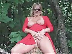 Mature Wife Public Nice Tits