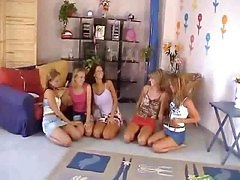 Five Girls Orgy