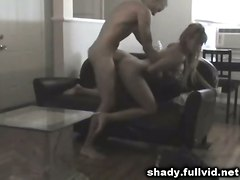Busty Cheating Blonde