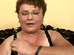 Hairy Fat Grandma Fucks