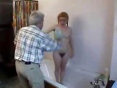 Old Man Fuck Young Chick